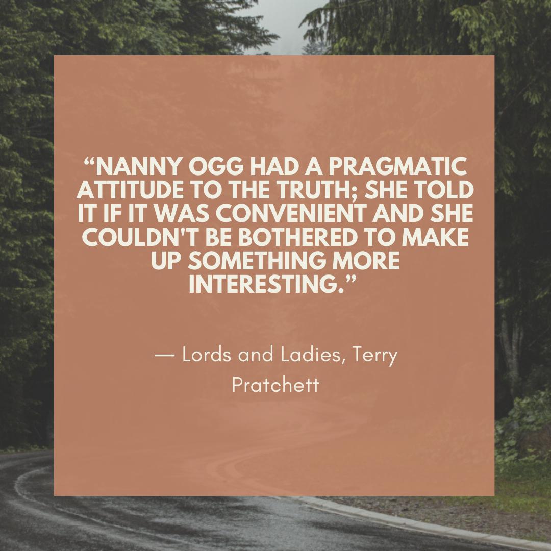Nanny Ogg quote